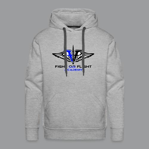 Fight or Flight Academy Logo - Men's Premium Hoodie
