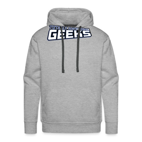 Logo For Totally Awesome Geeks - Men's Premium Hoodie