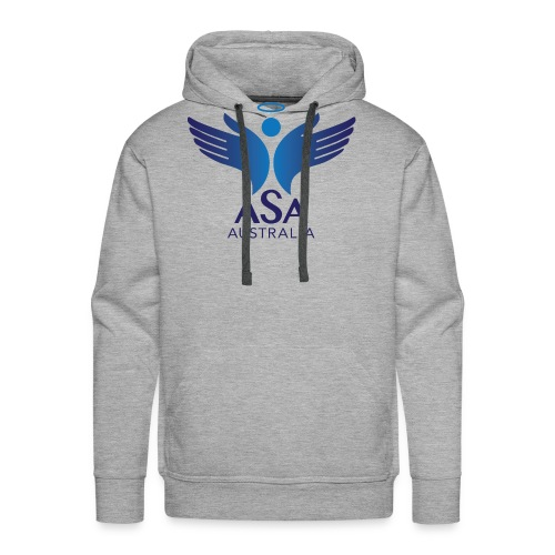 3459 Angelman Logo AUSTRALIA FA CMYK - Men's Premium Hoodie