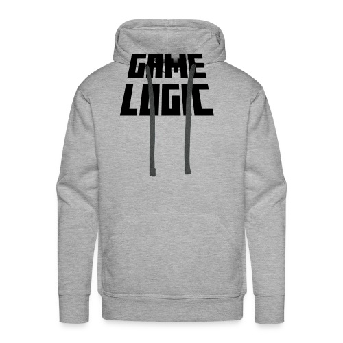 Game Logic Logo - Men's Premium Hoodie