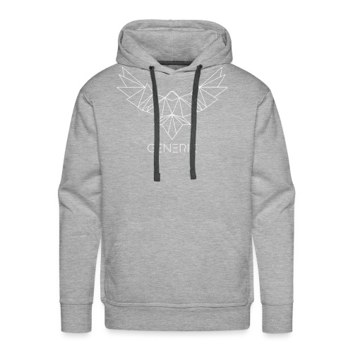 GENERIX Logo and Text Combination - Men's Premium Hoodie