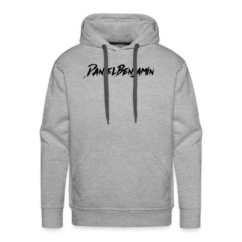 Daniel Benjamin Black Logo - Men's Premium Hoodie
