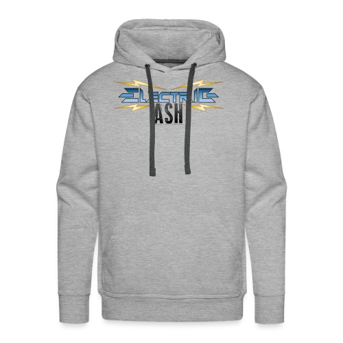 Electric Ash Logo - Main - Transparent Background - Men's Premium Hoodie