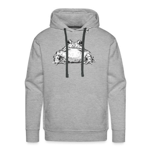 Frog with Fly by Imoya Design - Men's Premium Hoodie