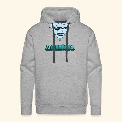 Txdiamondx Diamond Guy Logo - Men's Premium Hoodie