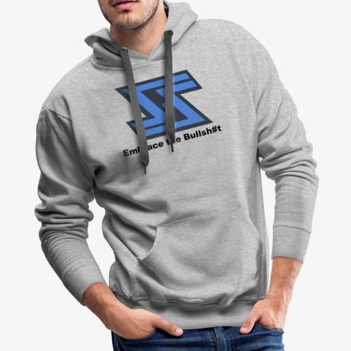 Sir Swag official logo design - Men's Premium Hoodie