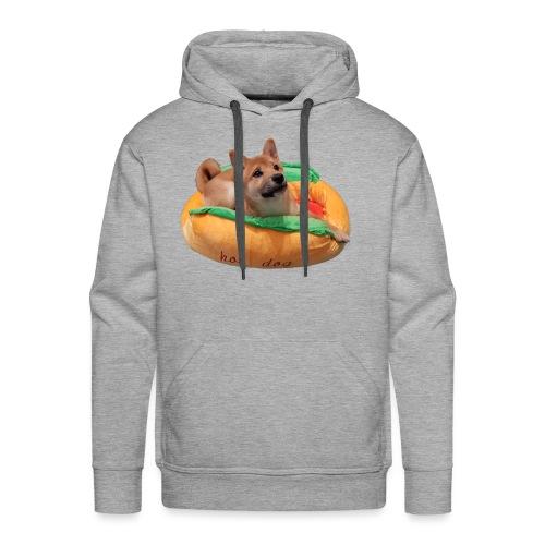 hot doge - Men's Premium Hoodie