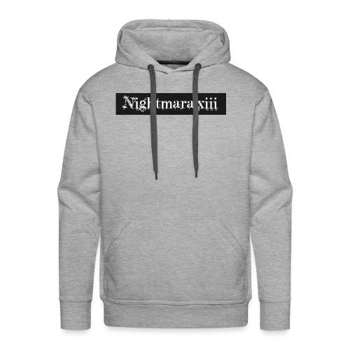 Nightmara logo written - Men's Premium Hoodie