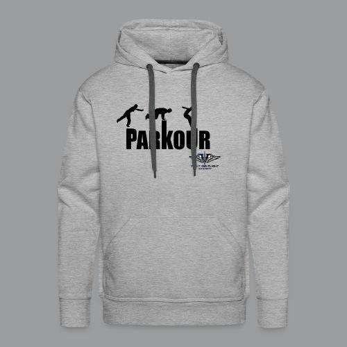 Parkour Text Kong Precision - Men's Premium Hoodie