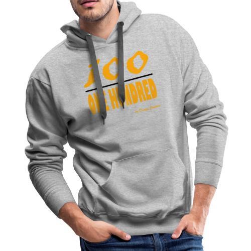 ONE HUNDRED ORANGE - Men's Premium Hoodie