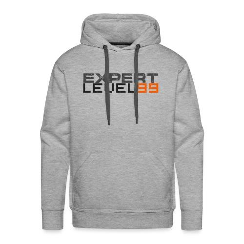 Expert Level 99 [Dark on Light] - Men's Premium Hoodie