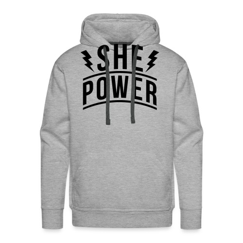 She Power - Men's Premium Hoodie