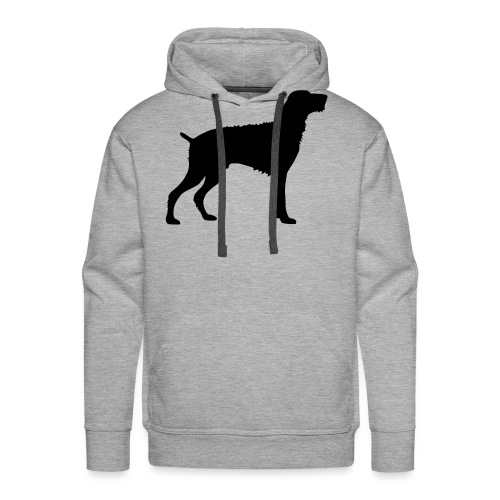 German Wirehaired Pointer - Men's Premium Hoodie