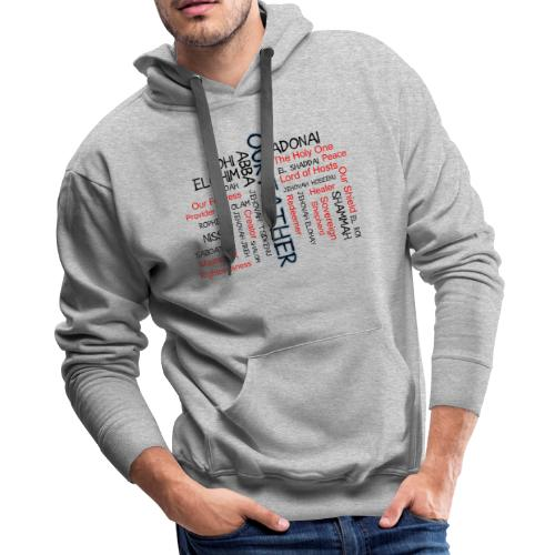 Names of God - Men's Premium Hoodie