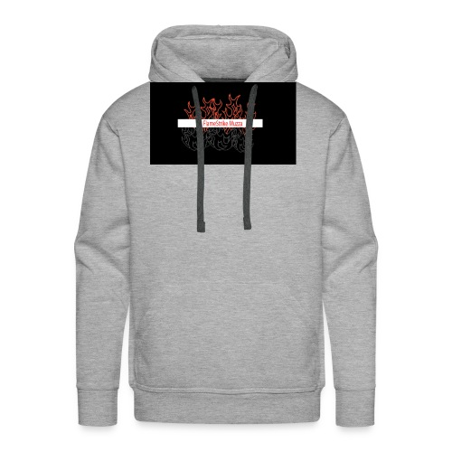 FLAMESTRIKEMuzzaSpring2016 logo - Men's Premium Hoodie