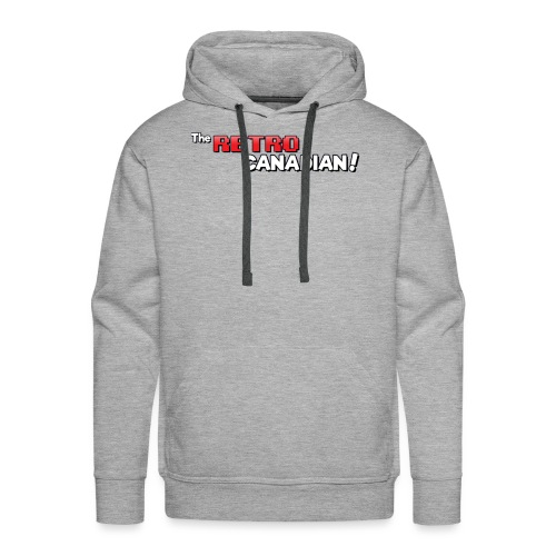 TheRetroCanadian Official Tee Shirt - Men's Premium Hoodie
