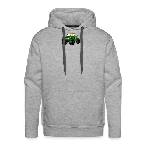 Happy Toy Jeep Green - Men's Premium Hoodie