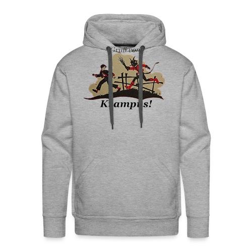 Gruss vom Krampus! - Men's Premium Hoodie
