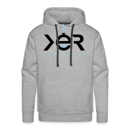 xer logo black - Men's Premium Hoodie
