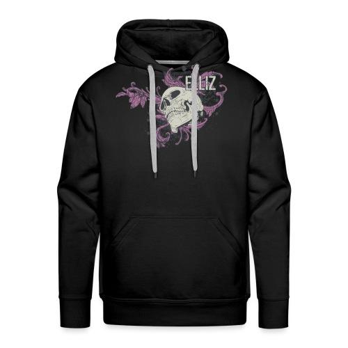Ornamental Skull Bandana - Men's Premium Hoodie