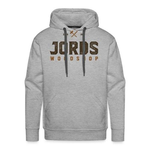 New Age JordsWoodShop logo - Men's Premium Hoodie