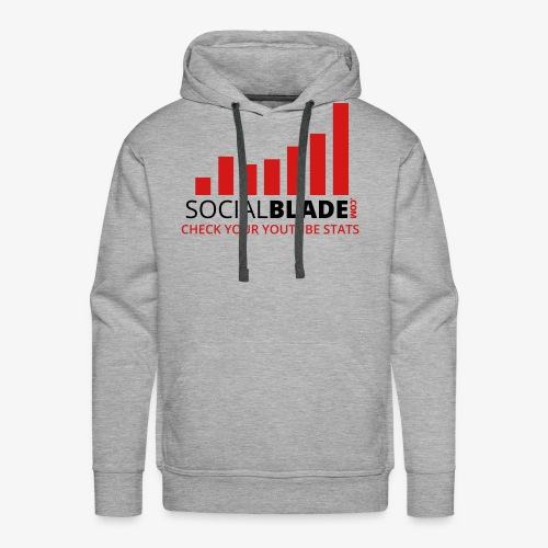 Traditional Logo Tagline - Men's Premium Hoodie