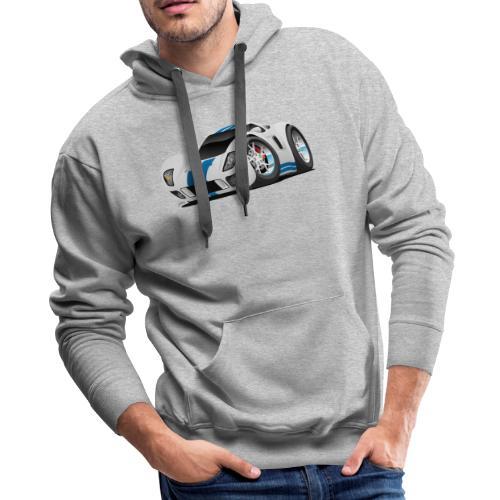 American Supercar Cartoon - Men's Premium Hoodie