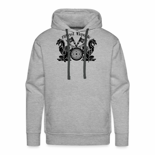 Atheist Republic Logo - Key Emblem - Men's Premium Hoodie