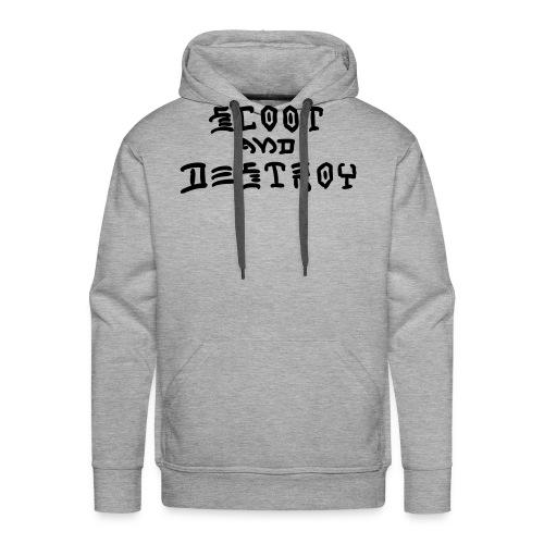 Scoot and Destroy - Men's Premium Hoodie