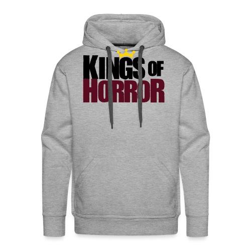 Kings of Horror Logo - Men's Premium Hoodie