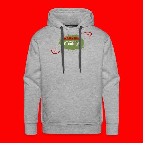 Christmas_is_Coming - Men's Premium Hoodie