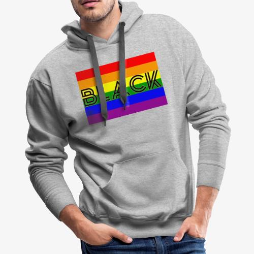 Black LGBTQ - Men's Premium Hoodie