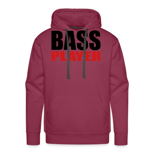 Bass Player - Men's Premium Hoodie