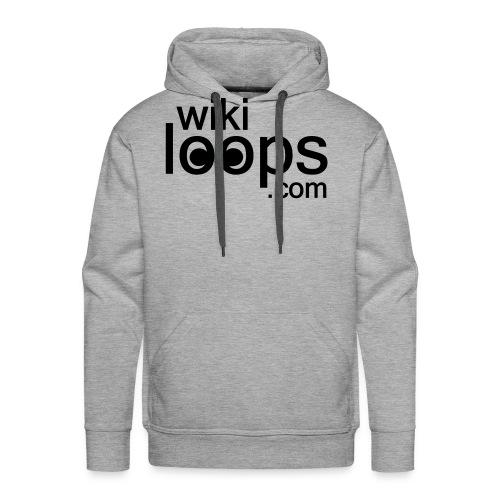 wikiloops logo sqare AI - Men's Premium Hoodie