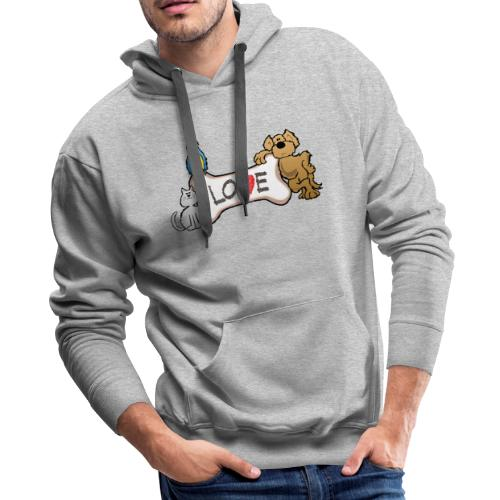 Pet Love - Men's Premium Hoodie