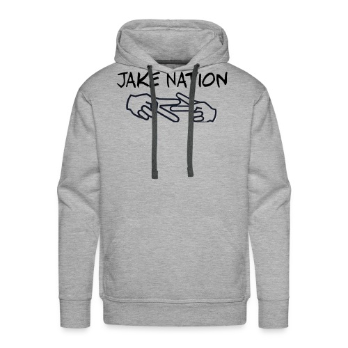 Jake nation phone cases - Men's Premium Hoodie