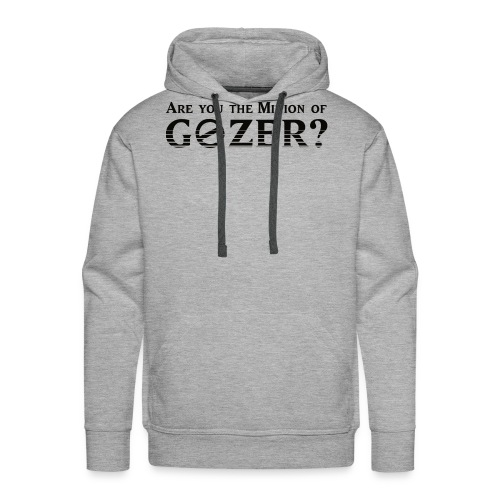 Are you the minion of Gozer? - Men's Premium Hoodie
