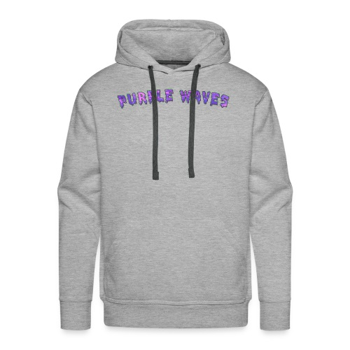 Purple Waves - Men's Premium Hoodie