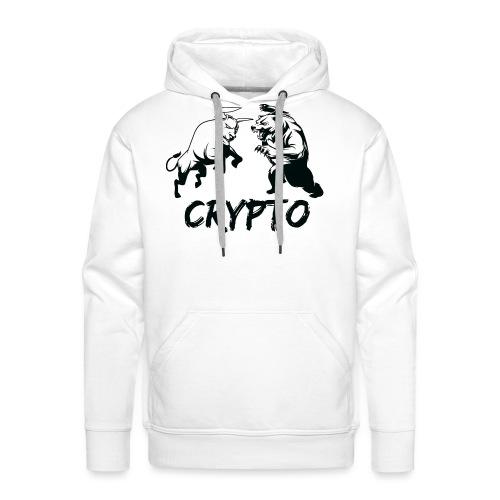 CryptoBattle Black - Men's Premium Hoodie