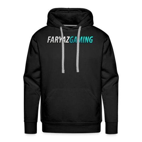 FaryazGaming Theme Text - Men's Premium Hoodie