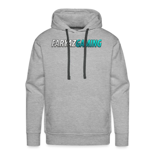FaryazGaming Theme Text - Men's Premium Hoodie