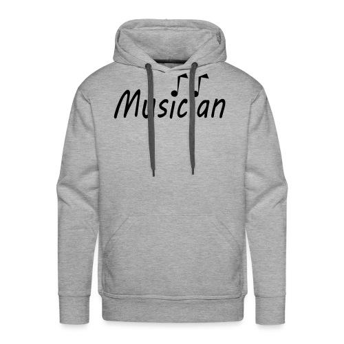 musician black - Men's Premium Hoodie