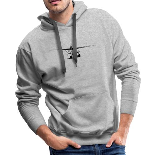 H-53 Sea Stallion Helicopter - Men's Premium Hoodie