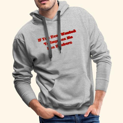 safety First 6 Merch - Men's Premium Hoodie