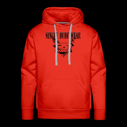 SDW Skull Big - Men's Premium Hoodie