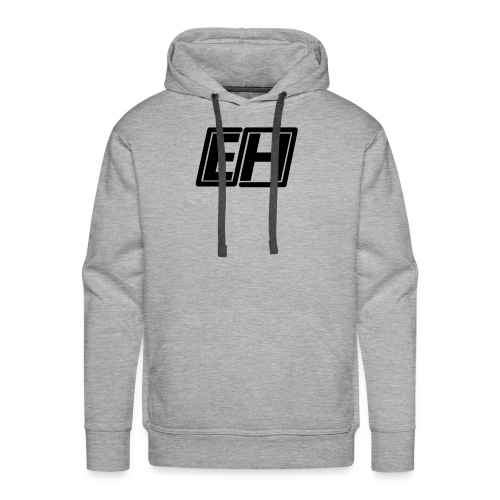 Everybody Hates Black Logo - Men's Premium Hoodie