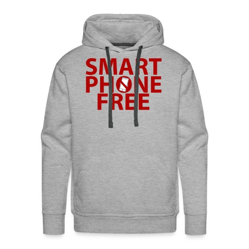 SMART PHONE FREE - Men's Premium Hoodie