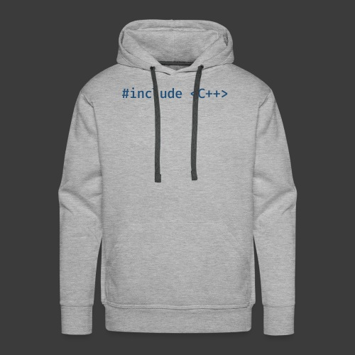 Include Original (Light Background) - Men's Premium Hoodie