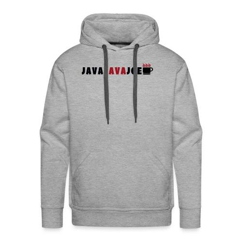 JavaLavaJoeLogo - Men's Premium Hoodie