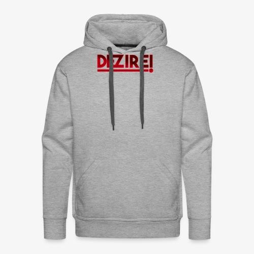 Dezire | Metallic Red - Men's Premium Hoodie